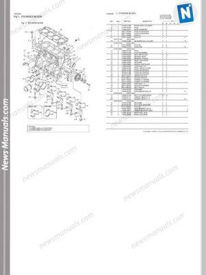 Isuzu Diesel Engine 4Bg1 Instruction Manual