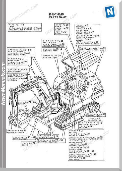[DIAGRAM] Case 1850k Series 3 Crawler Dozer Operators