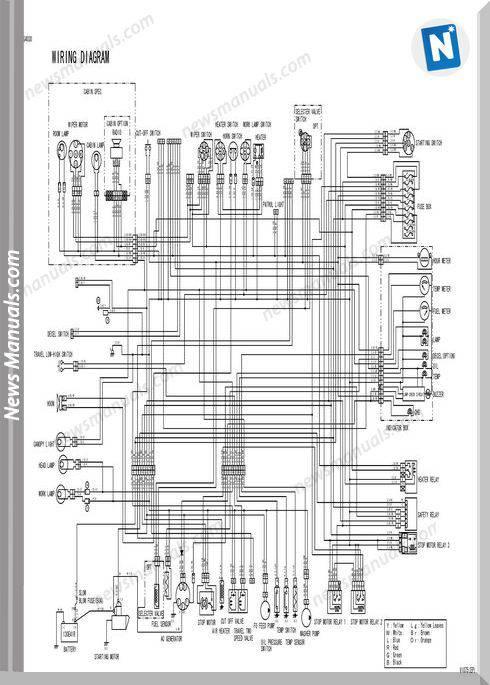 Yanmar Crawler Backhoe Vio75 Parts Manuals