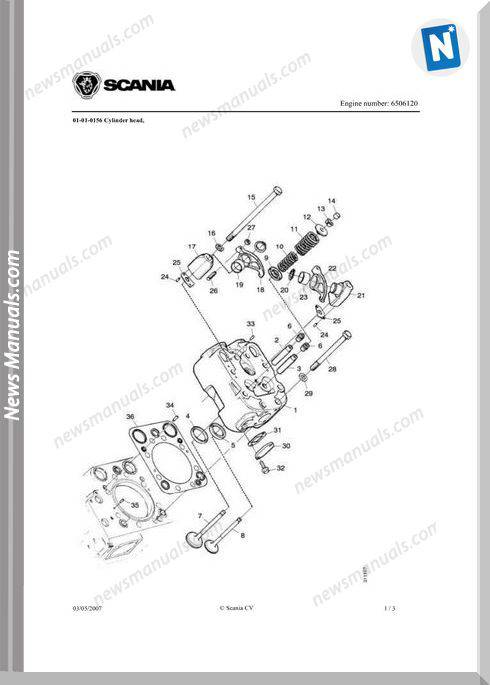 Yanmar Dc14 500 Kva Wpy500 Engine Parts Catalog