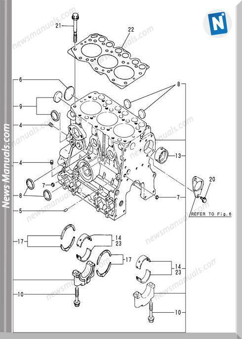 Yanmar Engine 3Tne68-Ebvb Parts Catalog