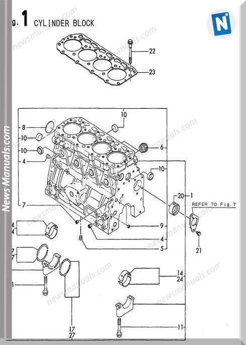 Yanmar Engine 4Tn84Tl-Rbs(B50W)Parts Catalog