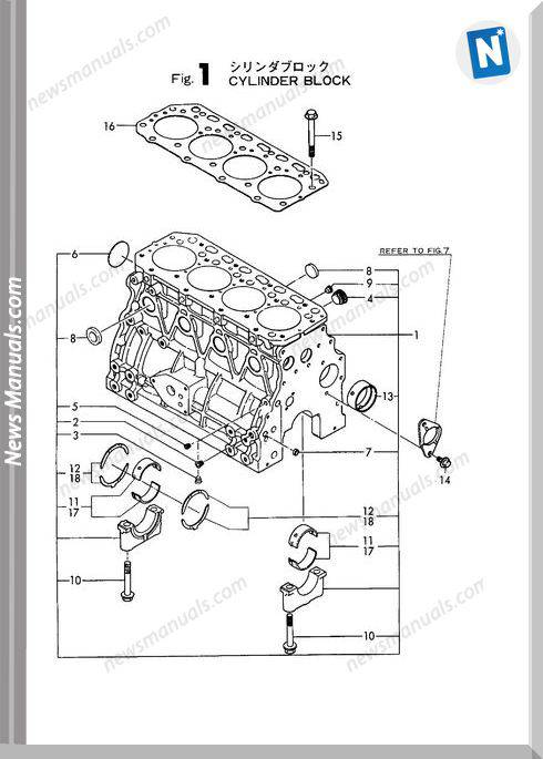 Yanmar Engine 4Tnc88L-Rb(B50-2)Parts Catalog