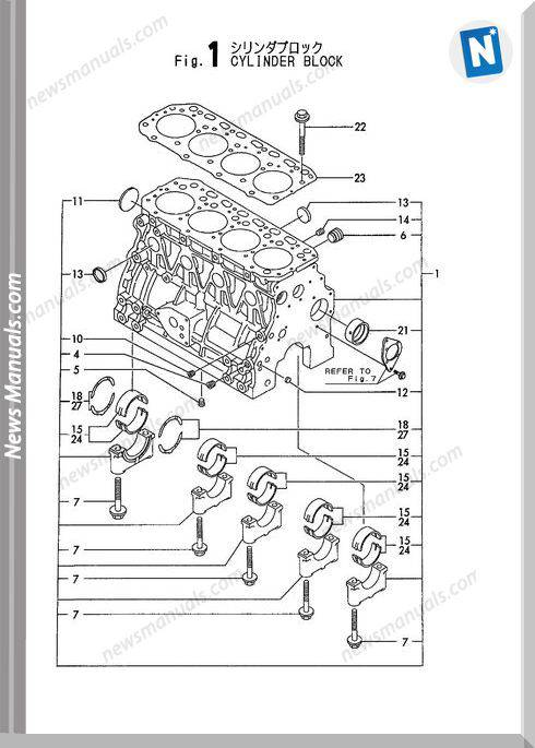 Yanmar Engine 4Tne88-3By,3Cy(B6U)Parts Catalog