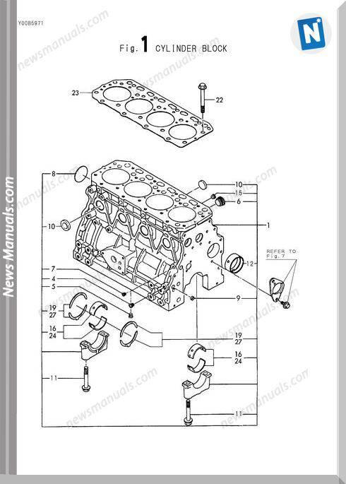 Yanmar Engine 4Tne88- (E)B1Parts Catalog