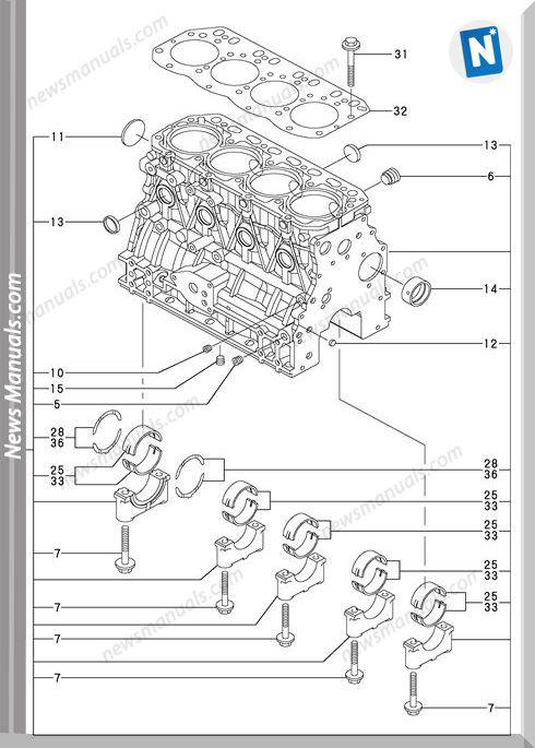 Yanmar Engine 4Tnv88-Xbvparts Catalog