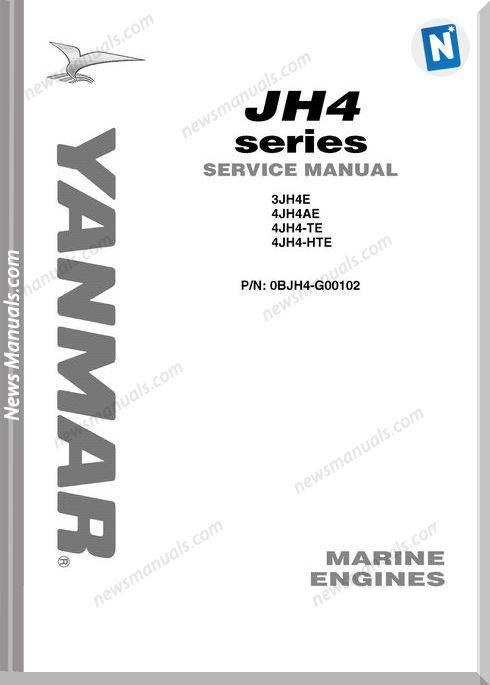 Yanmar Jh4 Service Manual