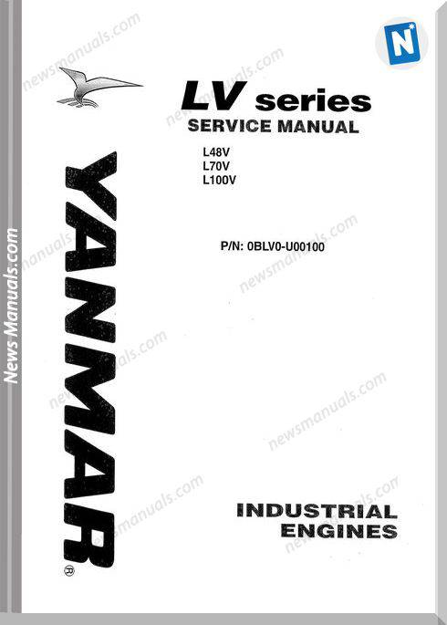 Yanmar Lv Series Service Manual-14Y16162-21114Y32
