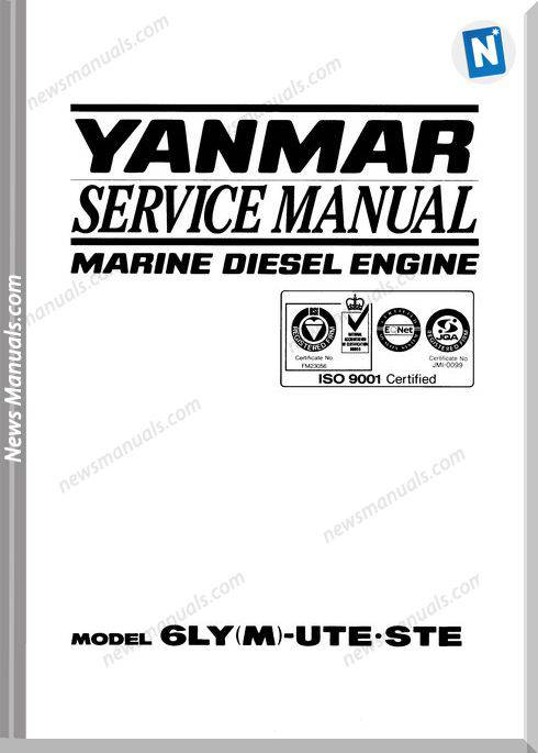 Yanmar Ly Service Manual-14Y16163-21114Y32