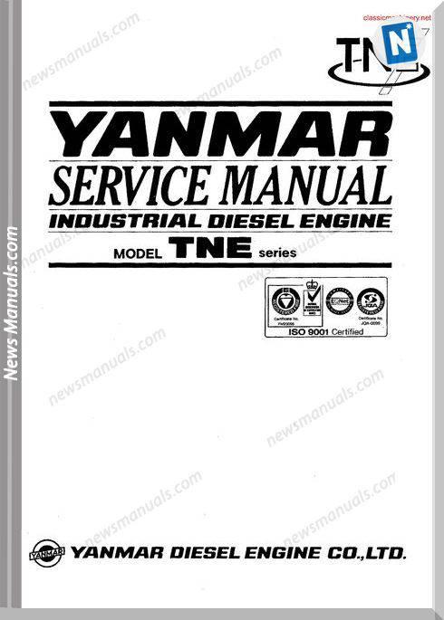 Yanmar Tne Series Servicehandbook