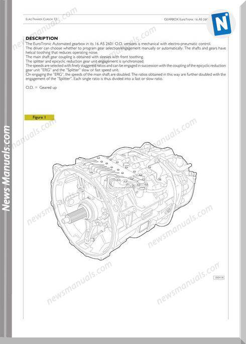 Zf Astronic Repair Manual-Iveco