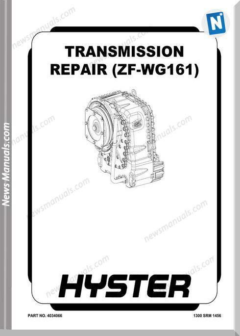 Zf-Wg161 Transmission Repair Manual