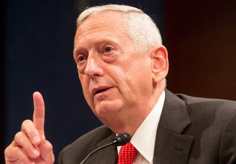 Image result for ژنرال جیمز متیس وزیر دفاع آمریکا