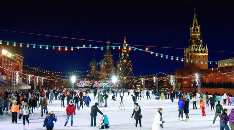 Погода в новогоднюю ночь 2017-2018 в Москве
