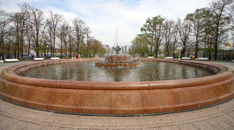 Закрытие сезона фонтанов в Москве в 2019 году