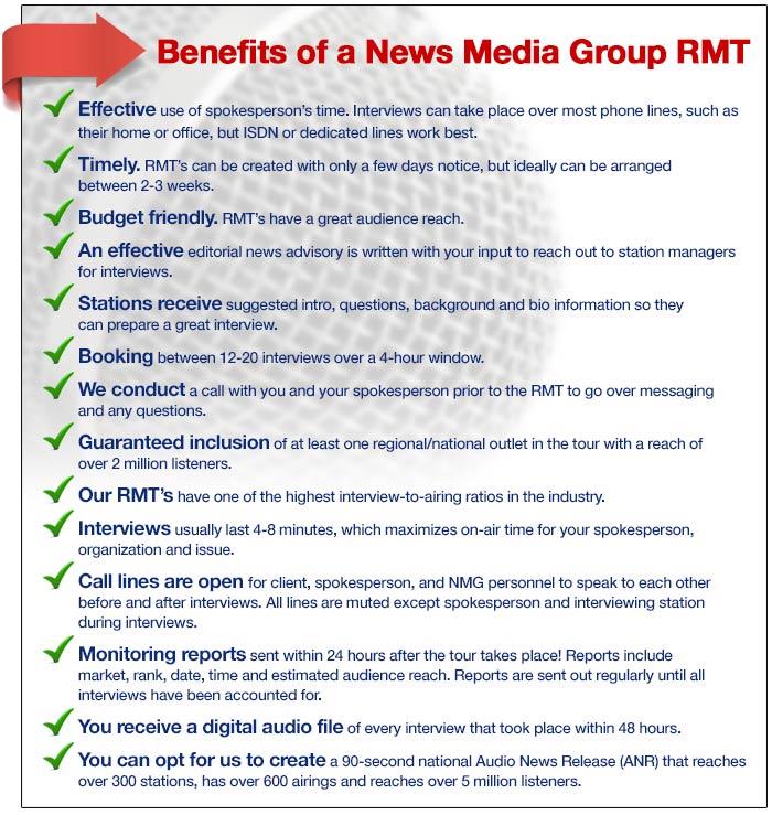 NMG Radio Media Tour
