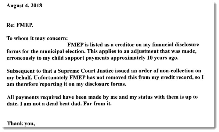 Kevin Storrie financial disclosure