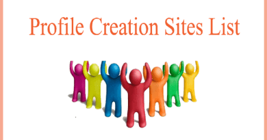 Profile Creation Site list for off page seo in 2020