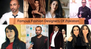List Of Top Pakistani Fashion Designers Archives News Blog