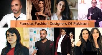 List Of Top Pakistani Fashion Designers Archives News Blog