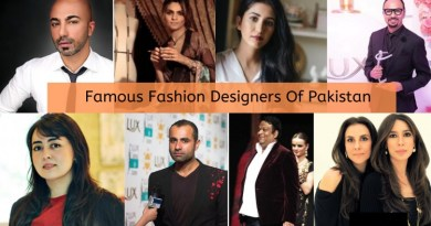 Top 10 Fashion Designers in Pakistan