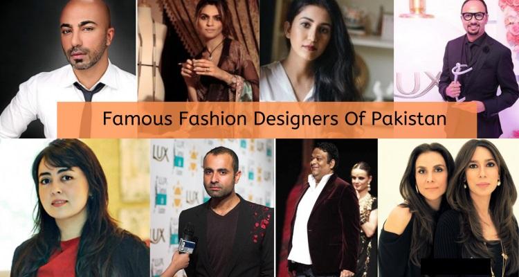 Top 10 Fashion Designers in Pakistan