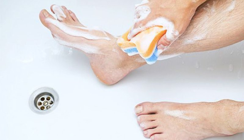 Foot Cleansing