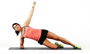 Side Plank the best excercise to get rid of stomach fat