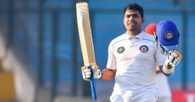 Umar Akhmal Double Hundered in Qaideazam Trophy