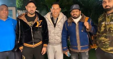 Gippy Grewal is in Pakistan