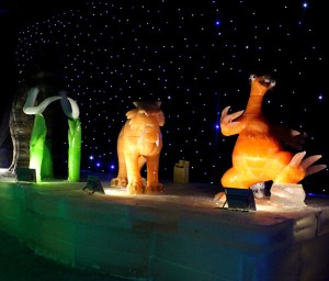 Karachi Winterland Ice Sculptures
