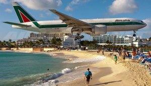 Princess Juliana Airport Caribbean Island