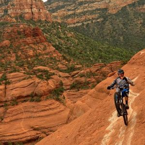 White Line Sedona Cycling most Dangerous Tourist Attractions in the World