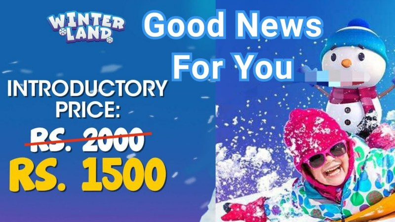 Winterland Karachi ticket price