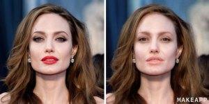 angelina jolie without makeup