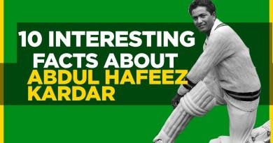10 Interesting Facts About Abdul Hafeez Kardar