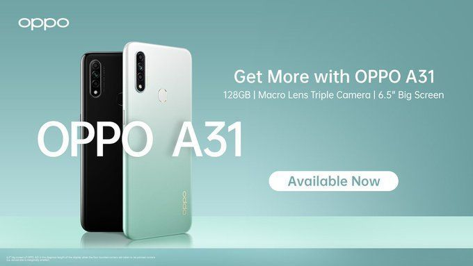 Oppo A31 Price in India