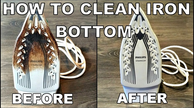 Simple and easy ways to clean iron bottom