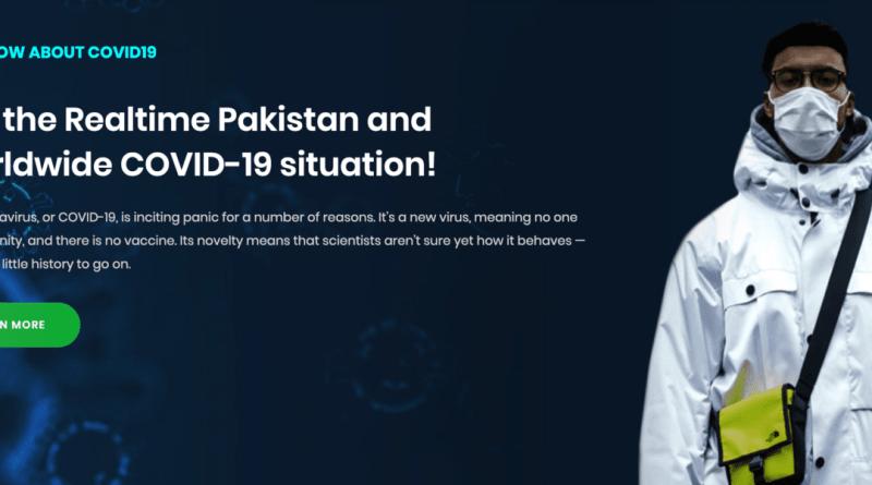 Govt of Pakistan Launches Official Coronavirus Website
