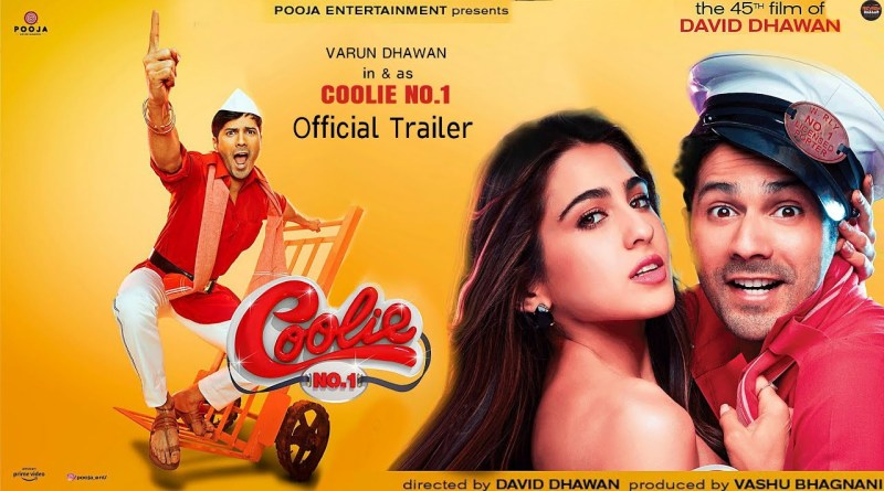 coolie no1 2020 Bollywood movie