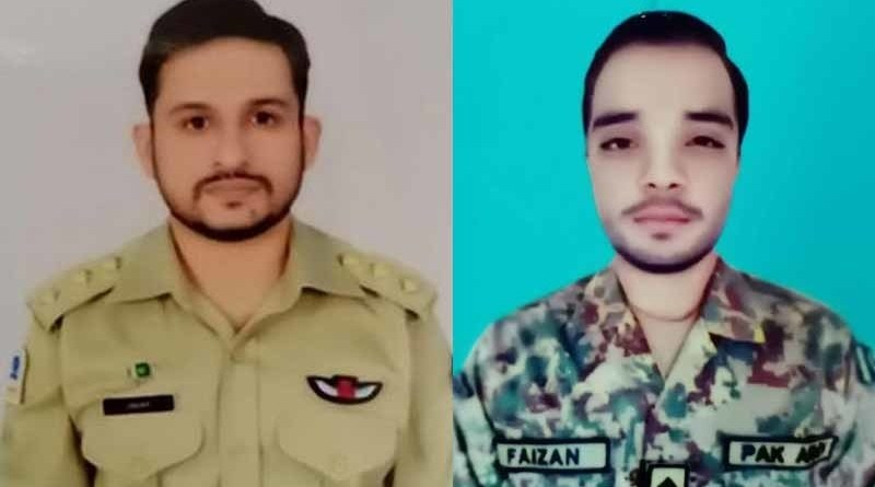 A Pakistan Army Aviation's trainer aircraft, Mushaq, crashed near Gujrat during a routine training mission on Monday causing both pilots to embrace martyrdom.