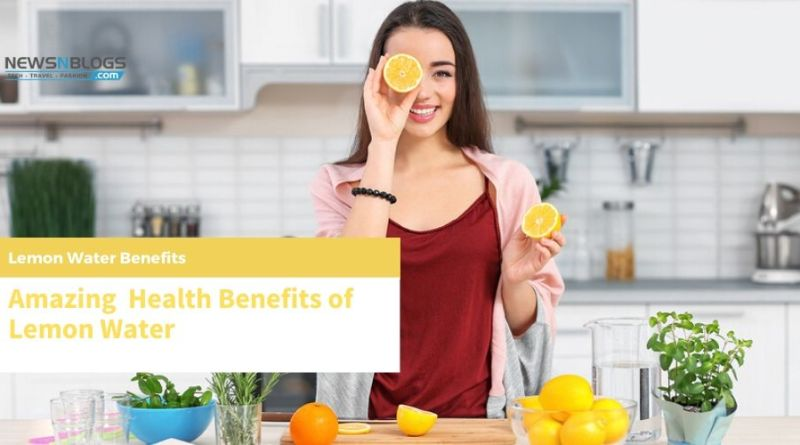 Amazing Health Benefits of Lemon Water