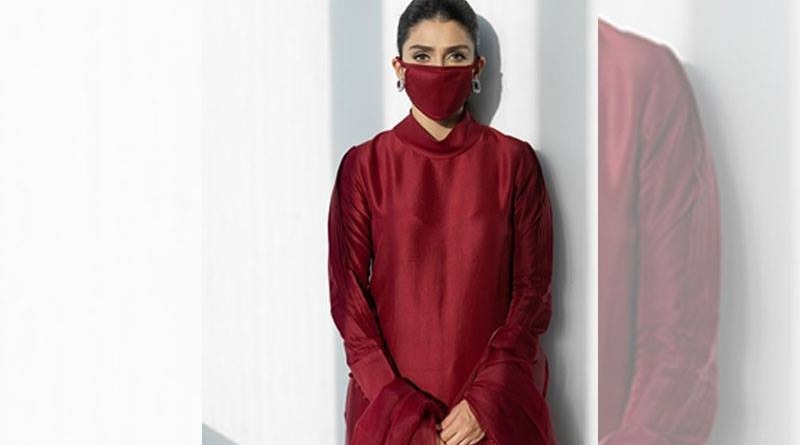 Coronavirus Aiza Khans advice to make face mask a part of fashion