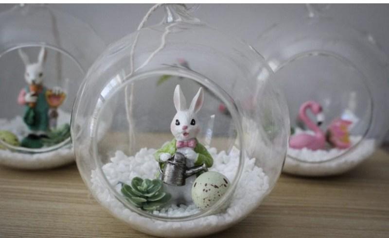 Easter terrariums