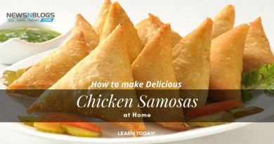 How to make delicious chicken samosas at home