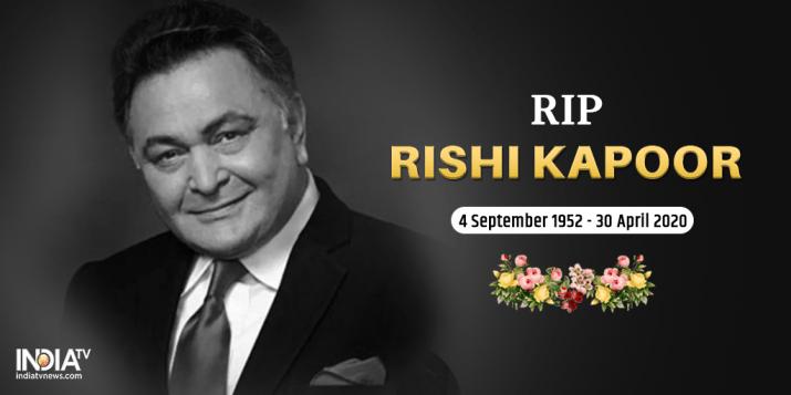 Rishi Kapoor death - Rishi Kapoor death