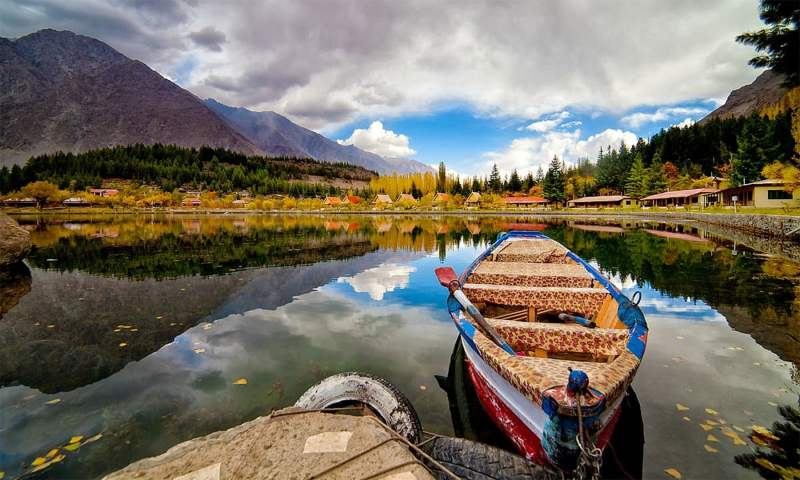 Shangrila Lake Skardu - 15 Must Visit Places in Pakistan
