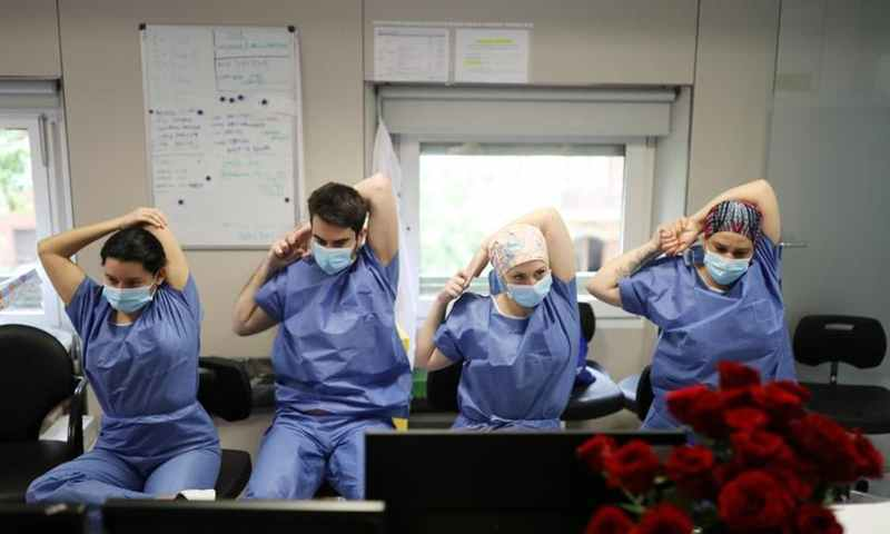 The role of front-line doctors and medical staff is crucial against the global coronavirus pandemic - Photo source - Reuters