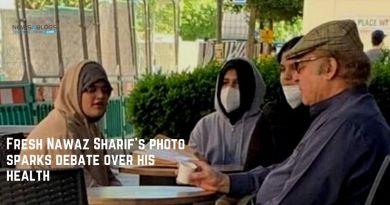 Fresh Nawaz Sharif's photo sparks debate over his health