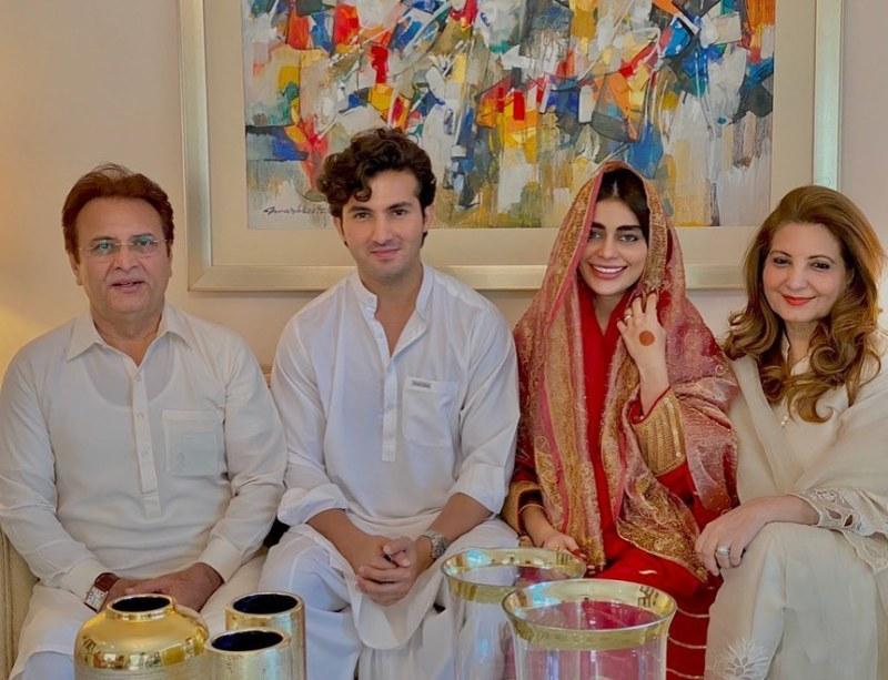 Sadaf Kanwal Marriage Pics
